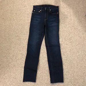 Point sur high-rise jeans 25
